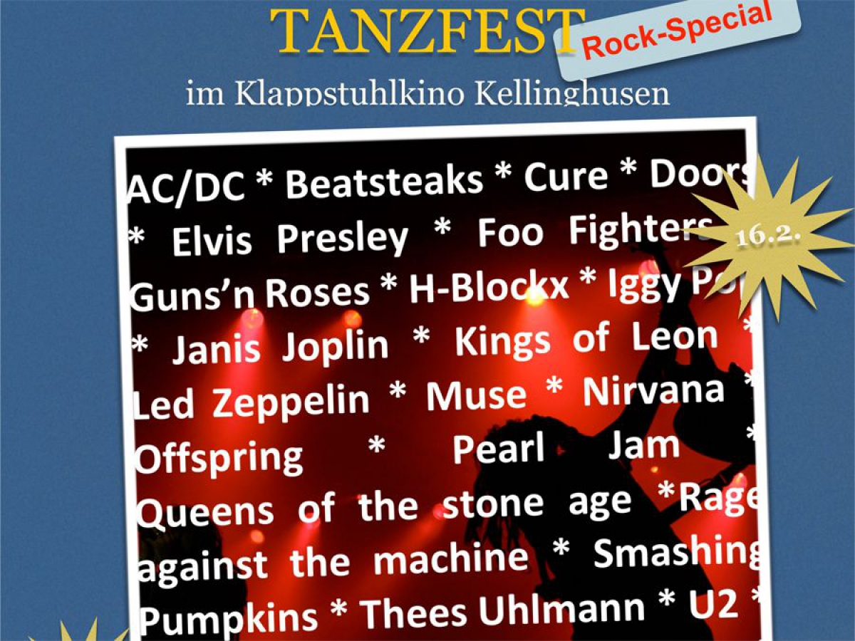 Tanzfest - Rock-Special